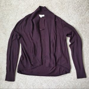 LOFT Plum Colored Sweater